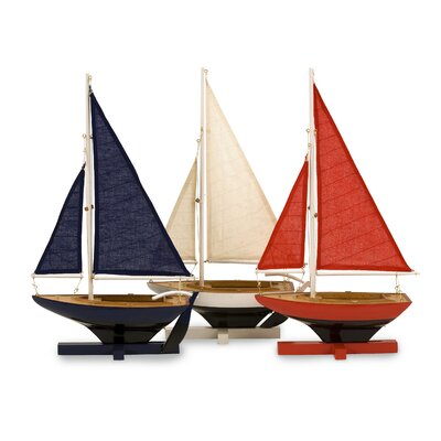 Bonham Beautiful and Bright Sailing Fleet Sculpture