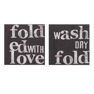 Creative Dahl Laundry Signs Assorted 2