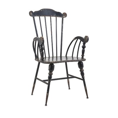 Patroclus Well-Designed Metal Dining Chair Finish: Black