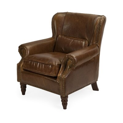 Avian Elegant Leather Club Chair