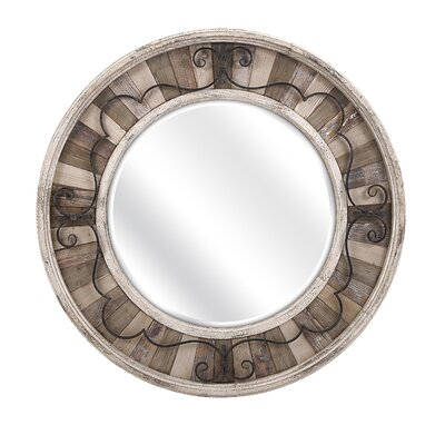 Loon Peak DelloStritto Metal and Wood Accent Mirror