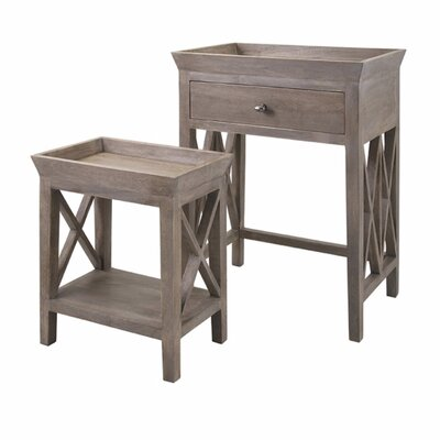 Purington 2 Piece Tray Table Set