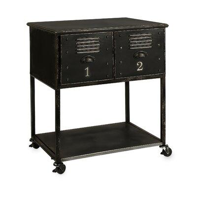 Fayette 2-Drawer Kitchen Cart