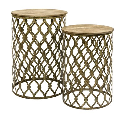 Ari 2 Piece Nesting Tables