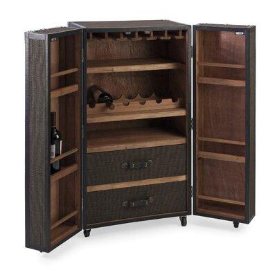 Zveja Rolling Wine Bar Cabinet