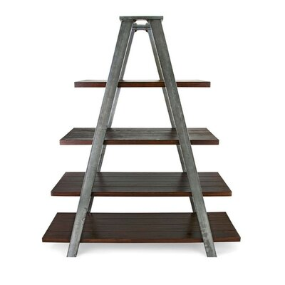 Learn more about Metal Wood Ladder Bookcase Product Photo