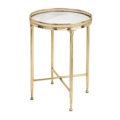 Langworthy Circular End Table