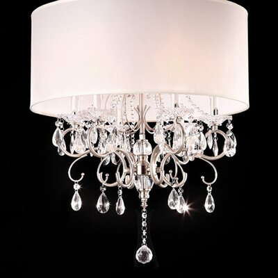 Bourget 6-Light Drum Pendant