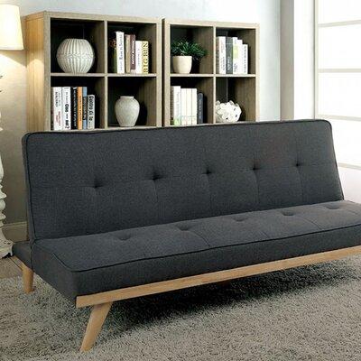Rapier Futon Sofa Upholstery: Gray