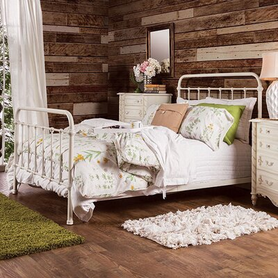 Retha Twin Panel Bed Size: California King