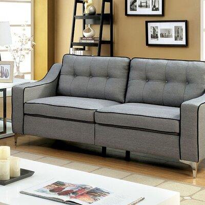 Clarissa Sofa Upholstery: Gray