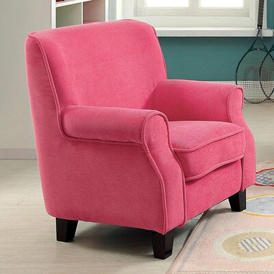 Septfontaines Armchair Upholstery: Pink
