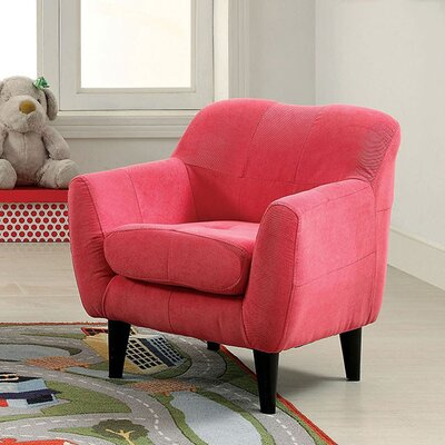 Hesperia Armchair Upholstery: Pink