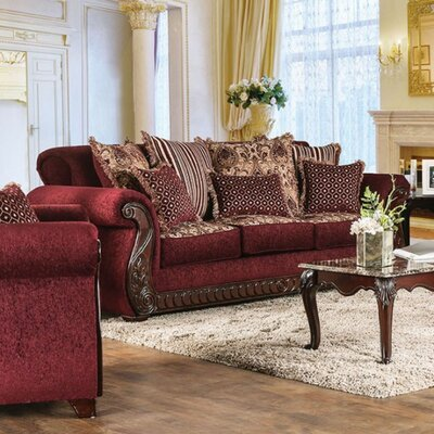 Cowen Sofa Upholstery: Wine