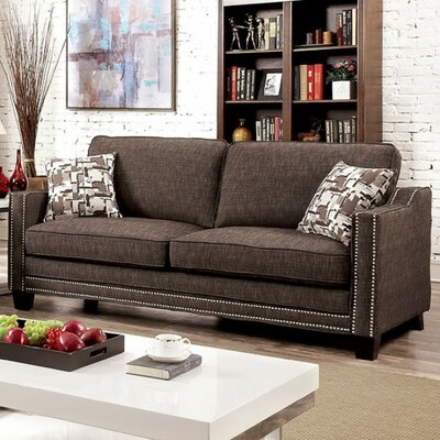 Panos Sofa Upholstery: Brown