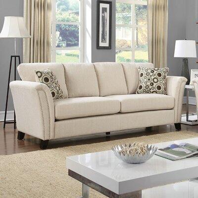 Arambulo Sofa Upholstery: Ivory