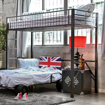 Den Helder Twin Loft Bunk Bed
