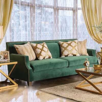 Maci Sofa with Toned Pillows