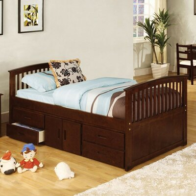Yate Twin Storage Platform Bed with 4 Drawers
