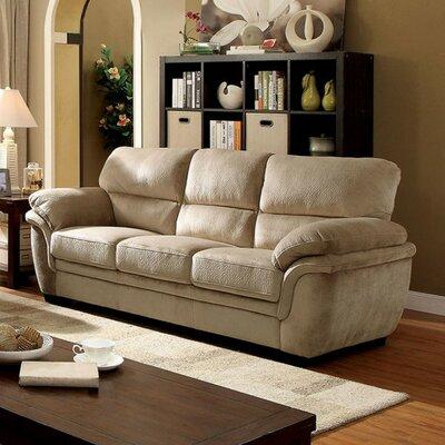 Ayawovi Sofa Upholstery: Light Brown