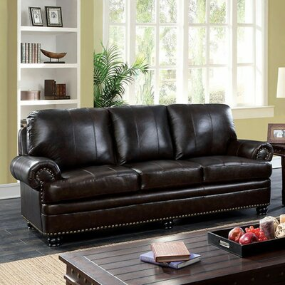 Gerard Sofa Upholstery: Dark Brown