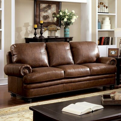 Gerard Sofa Upholstery: Brown