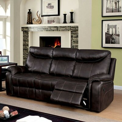 Stavros Plush Reclining Sofa