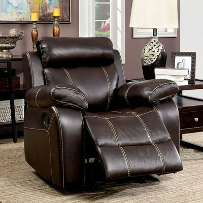Yizheng Manual Recliner with Contrast Stitching
