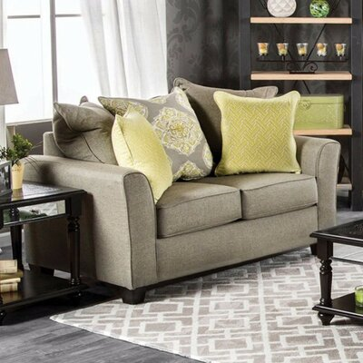 Eddy Loveseat with Loose Back Pillows