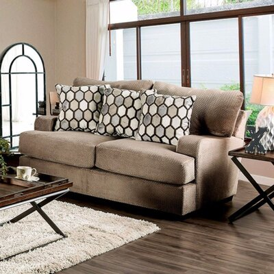 Tuyen Sofa Upholstery Color: Tan