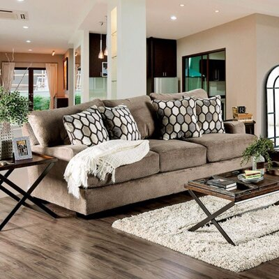 Tuyen Sofa Upholstery: Tan