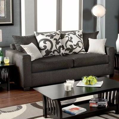 Poppe Sofa Upholstery: Charcoal