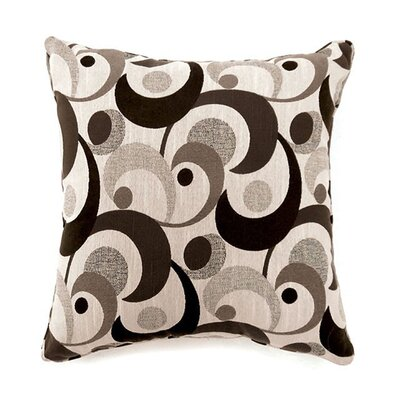 Castonguay Throw Pillow Color: Gray, Size: 15.3 x 15.3