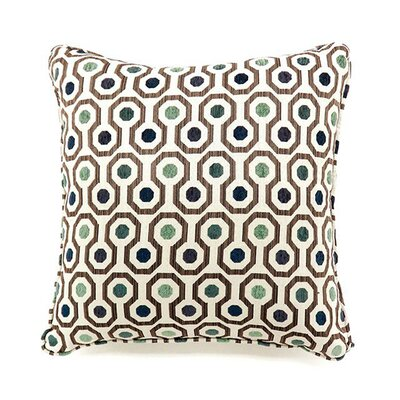 Emelia Throw Pillow Color: Dark Ivory, Size: 19 H x 19 W x 10.5 D