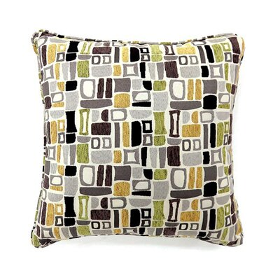 Emmy Throw Pillow Size: 15.3 x 15.3