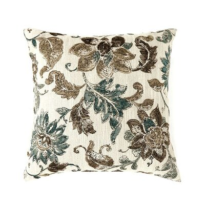 Les Throw Pillow Color: Blue, Size: 15.3 x 15.3