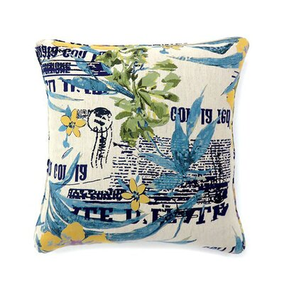 Cassandrea Throw Pillow Size: 19 x 19