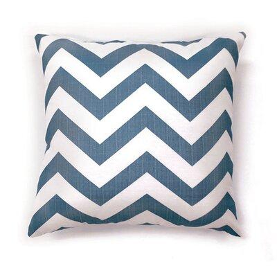 Whiteman Throw Pillow Color: Blue, Size: 15.3 x 15.3