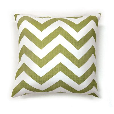 Whiteman Throw Pillow Color: Green, Size: 19 x 19