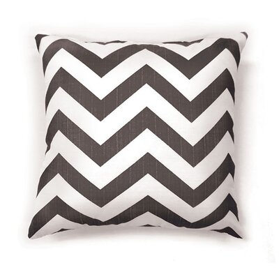 Whiteman Throw Pillow Color: Gray, Size: 19 x 19
