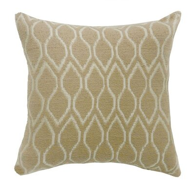 Paramus Throw Pillow Color: Beige, Size: 18.8 x 18.8