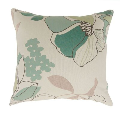 Shantelle Throw Pillow Size: 15.3 H x 15.3 W