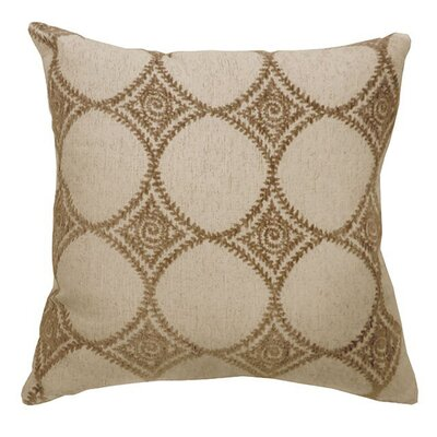 Classie Throw Pillow Size: 15.3 H x 15.3 W