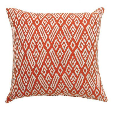 Armadillo Throw Pillow Color: Red, Size: 15.3 x 15.3