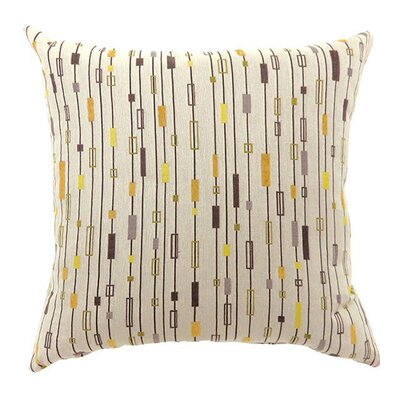 Kensley Throw Pillow Size: 15.3 H x 15.3 W