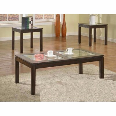 Jens 3 Piece Coffee Table Set
