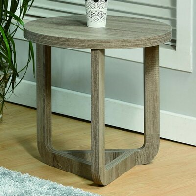 Malsbury Modern Round End Table
