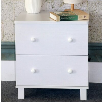 Cheswick Urbane 2 Drawer Nightstand