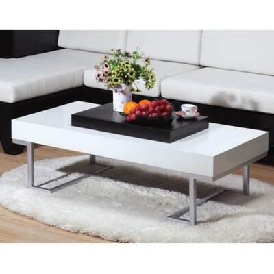Pannell Contemporary Style Sophisticated Coffee Table