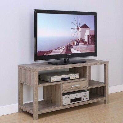 Dollinger Zig Zag Storage Prepossessing 47.25 TV Stand Color: Brown